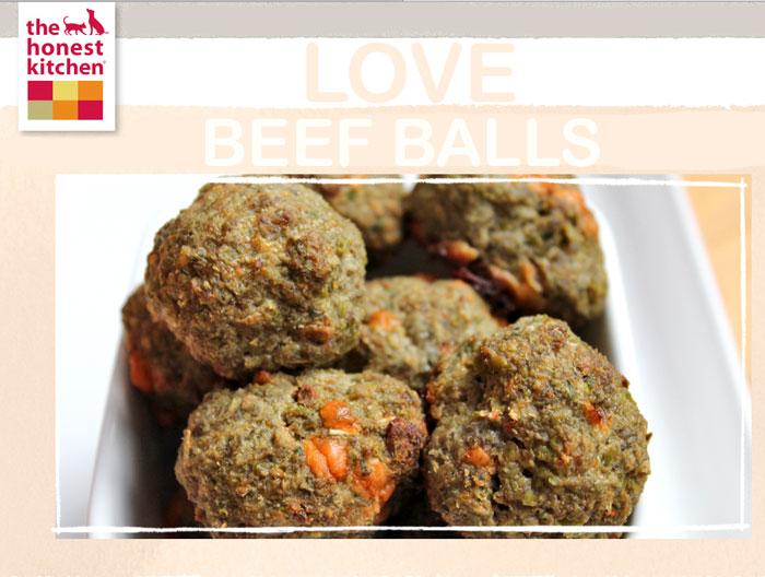 BEEF BALL TREATS
